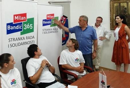 BANDIĆ U IMOTSKOM: Ponosan sam na projekt Zagreb, a imat ćemo i projekt Hrvatska