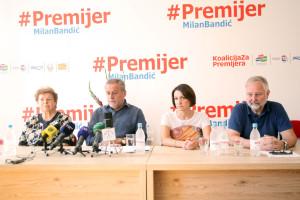 Milan Bandić, Jelena Vukičević Pavičić, Slavko Kojić, Ana Stavljenić Rukavina