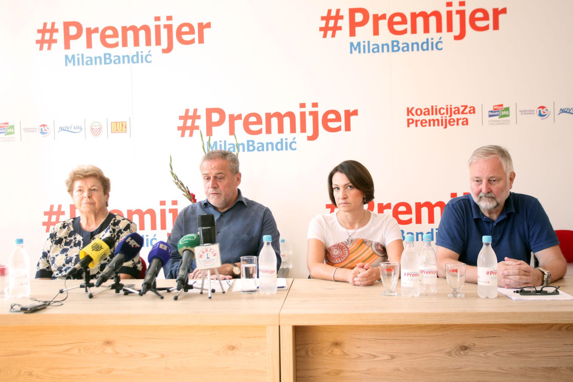 KOALICIJA ZA PREMIJERA: Smanjiti ćemo financiranje stranaka za 80 posto