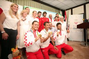 Milan Bandić s olimpijcima