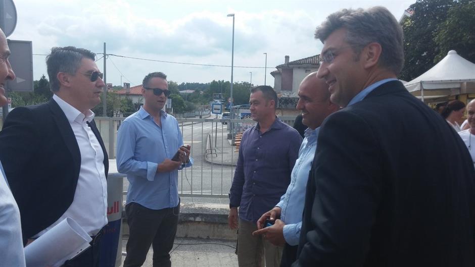 """SRELI SE I U BARBANU - Plenković: """"Malo smo popričali"""", Milanović: """"Ja sam tu 10 godina, a on je valjda došao u kampanju"""" 4"""