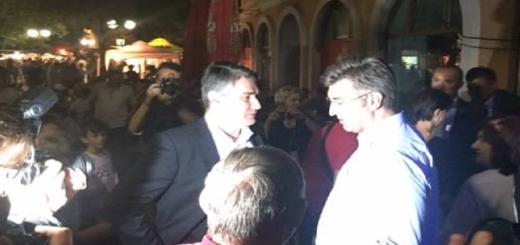 SLUČAJNI SUSRET: Milanović objavio fotku s Plenkovićem - sreli se u Novoj Gradiški 2