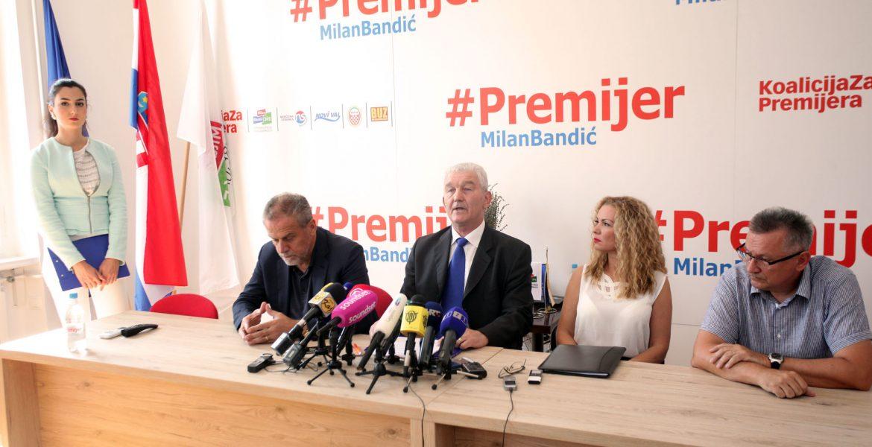 MILAN BANDIĆ: SDP glumata demokraciju, HDZ domoljublje - mi podižemo mirovine za 5 do 20 posto