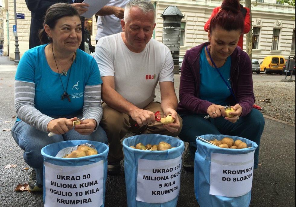 PRED VRHOVNIM SUDOM: Ukrao 50 milijuna - ogulio 10 kilograma krumpira