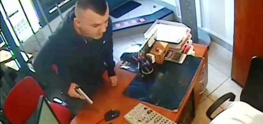 POTRAGA ZA RAZBOJNIKOM: On je pljačkao uz prijetnju pištoljem - policija moli pomoć građana 1