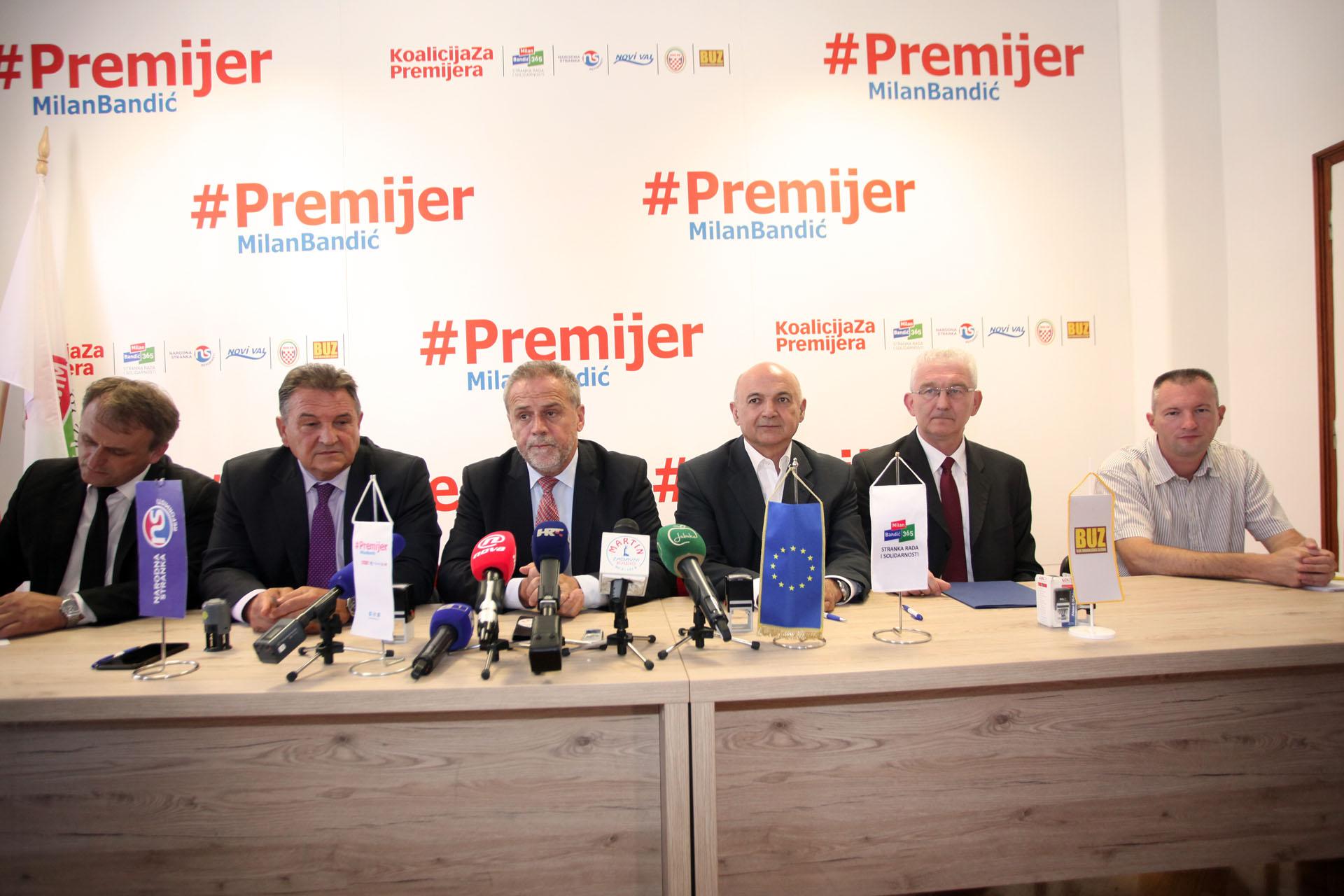 ZA PREMIJERA: Pozivam sve da izađu na izbore i da odmorimo HDZ i SDP - poručuje Bandić 1