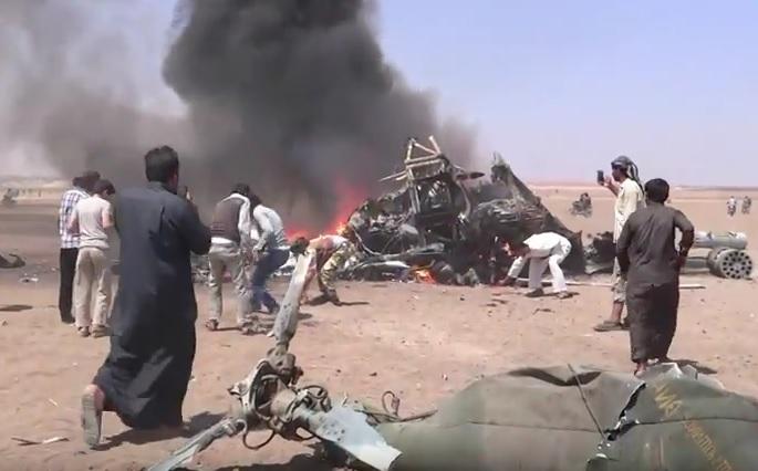 VIDEO: OBOREN RUSKI HELIKOPTER - Poginulo pet članova posade - sumnja se na ISIL