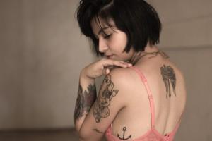 tetoviranje, djevojka