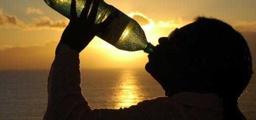 voda, boca, žeđ, piće
