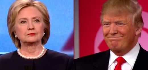 Hillary Clinton, Donald Trump 1