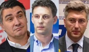 Milanović, Petrov, Plenković
