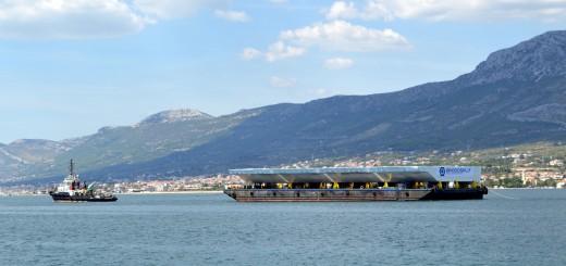 BRODOSPLIT ZA VJEČNOST: Na putu za Veneciju čelične brane za spas plutajućeg grada
