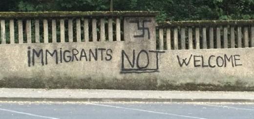 NANOSE SRAMOTU ZAGREBU: U Vončininoj, usred grada, osvanuli neonacistički grafiti