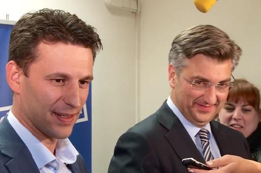 Andrej Plenković, Božo Petrov