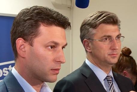 Božo Petrov, Andrej Plenković
