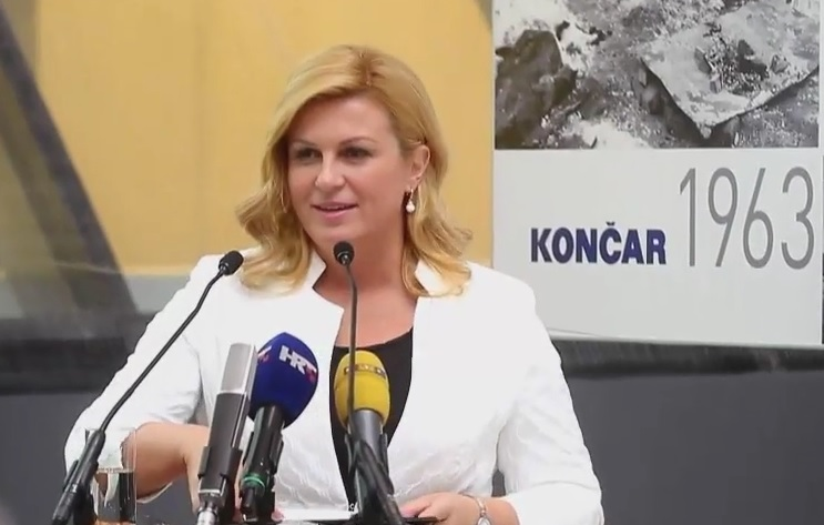 Kolinda Grabar Kitarović, Končar