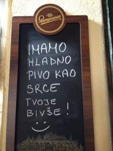 humor, hladno pivo