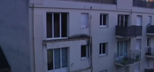 kuća, balkon, francuska