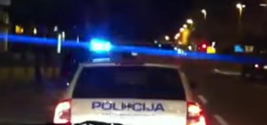 noć, policija