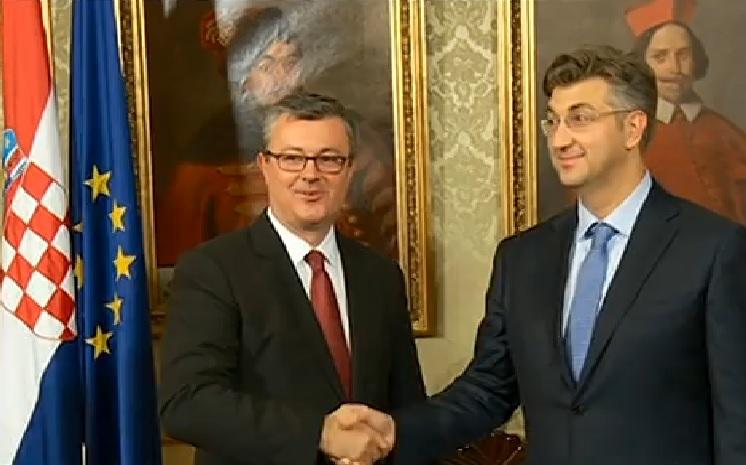 orešković, premijer, plenković