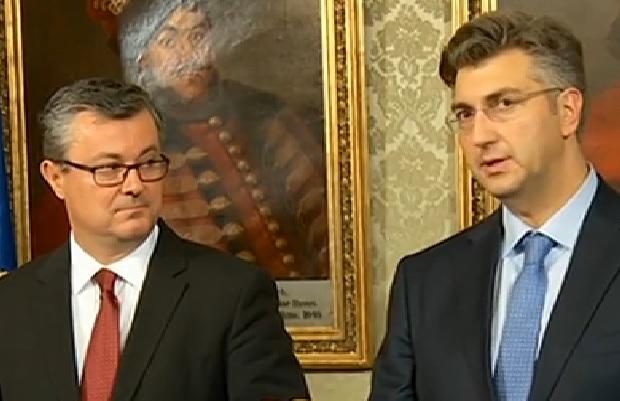 orešković, plenković, premijer