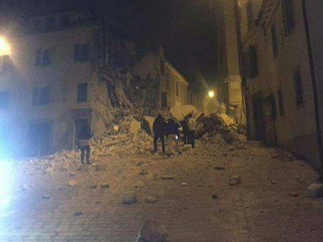 Potres u Italiji (Foto: Twitter)