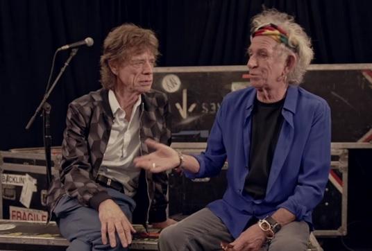 Ringo Starr i Mick Jagger