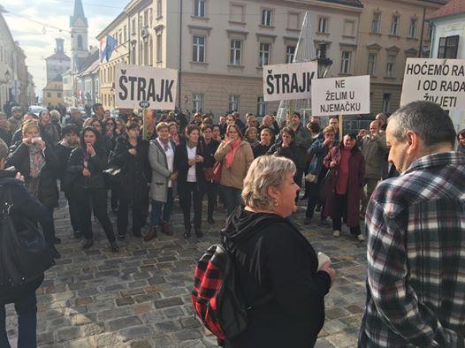 Djelatnici Studentskog centra na Markovom trgu (Foto: Facebook)