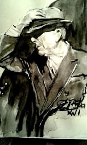 Ovako je Leonarda Cohena vidio Stjepan Đukić Pišta, izuzetni slikar i sjajni portretist