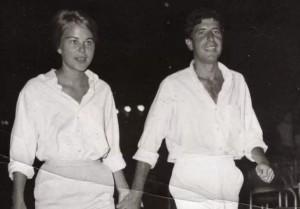 Marianne i Leonard u sretnim danima