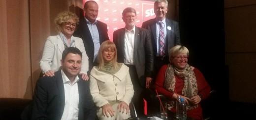 SDP-ovi kandidati i kandidatkinje za mjesto šefa stranke (Foto: Facebook)