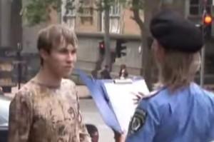seksi policajka, skrivena kamera