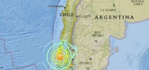 čile, potres