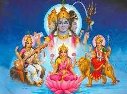 U hinduizmu je Sveto Trojstvo izraženo kroz tri božanske osobe, Brahma (onaj koji stvara svjetove), Vishnu (onaj koji održava svjetove) i Šiva (onaj koji razara svjetove). I to je projekcija naše nutrine.