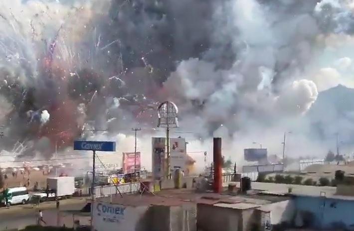 eksplozija, pirotehnika