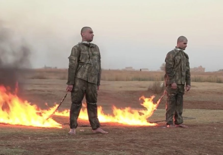 islamska država, turski vojnici