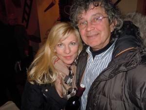 Suzy s poznatim našim umjetnikom - fotografom Ivanom Balićem Cobrom.