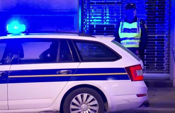 policija, noć, hrvatska