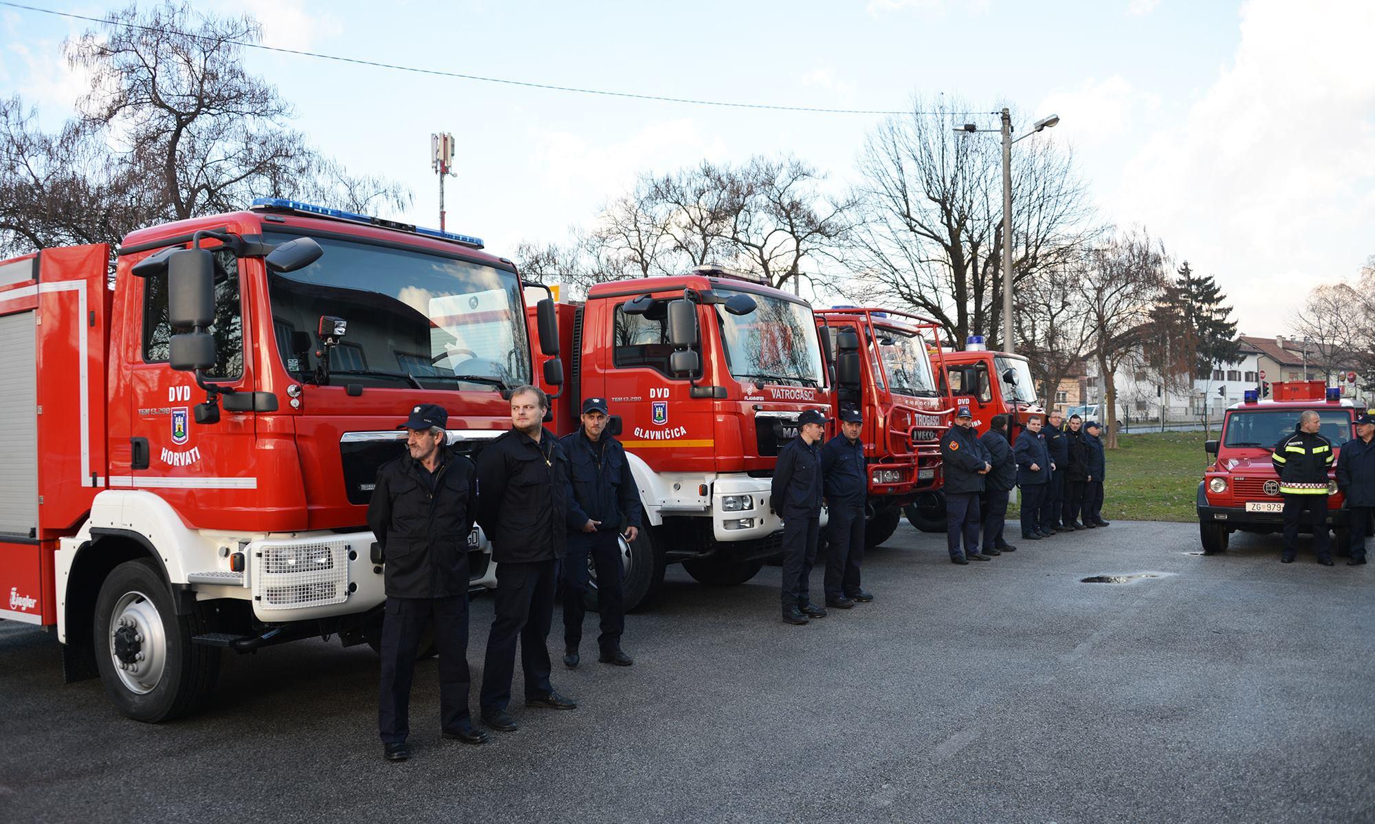 MODERNIZACIJA: 256 milijuna kuna za nova vatrogasna vozila