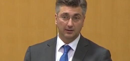 andrej plenković, premijer