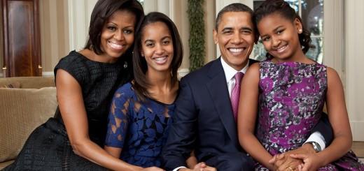 barack obama, obitelj