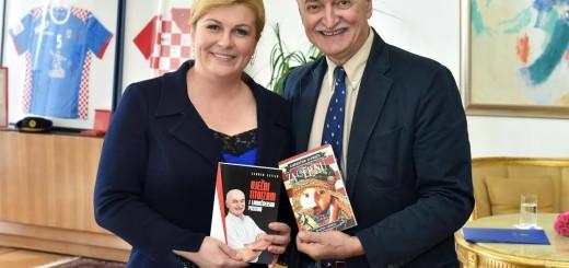 Predsjednica Grabar Kitarović i Slaven Letica Foto: Facebook
