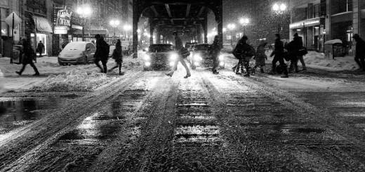 zima, noć, gripa