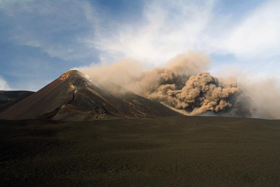 etna, vulkan