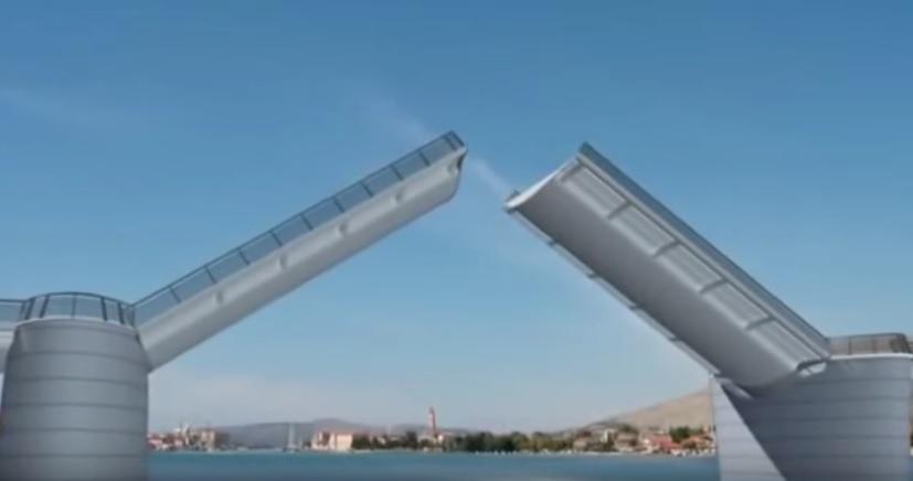 čiovski most, čiovo, most čiovo