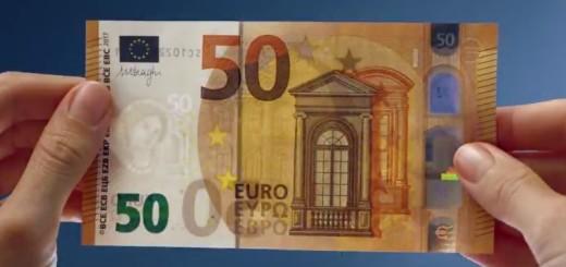 50 eura, novčanica