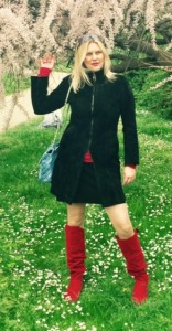 andreja, crvene čizmice