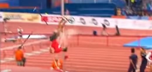 Florian Gaul,skok s motkom