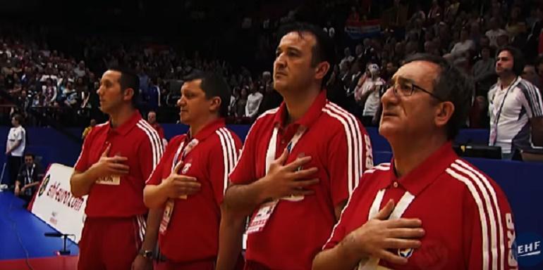 Lino Červar,Slavko Goluža,Udovičić,rukomet