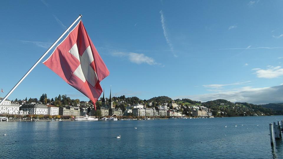 luzern, švicarska, zastava